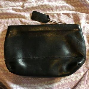 Coach vintage leather case